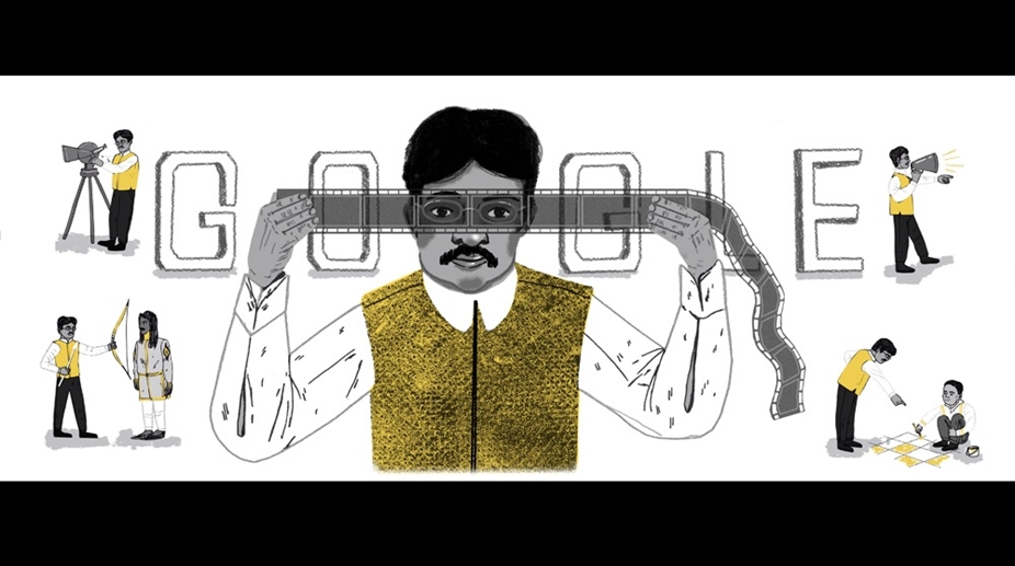 Dadasaheb Phalke's 148th birthday: Google celebrates with a doodle