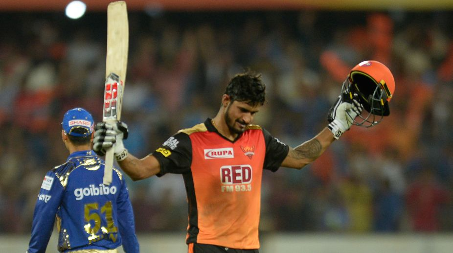 IPL 2018 Live SRH vs KKR:Hyderabad rising to outland Kolkata