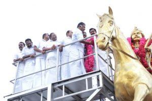 Tamil Nadu CM, deputy CM pay tribute to freedom fighter Dheeran Chinnamalai