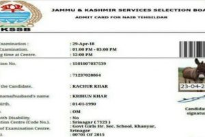 After cow, now donkey issued admit card to write exam in Jammu and Kashmir