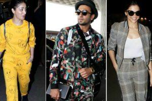 B-town celebrities' on-flight fashion looks