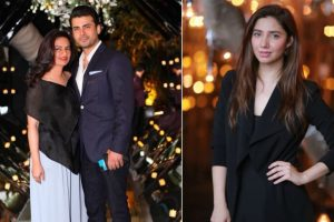 In pics: Fawad Khan rings in wife Sadaf's birthday with Mahira Khan