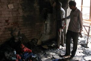 Two men killed in Delhi garment factory fire