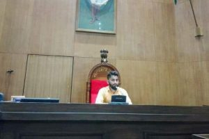Probe ordered against man who sat on Gujarat Speaker's chair