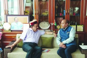 Himachal CM seeks Centre's help to save natural resources