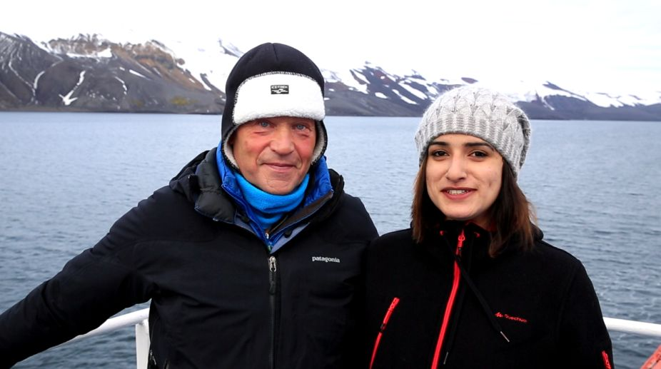 Shivangini Singh, Robert Swan, Antarctica Expedition, global warming