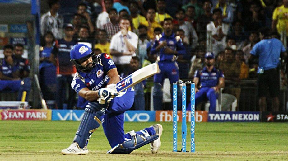 56 not out, Rohit Sharma, Mumbai Indians