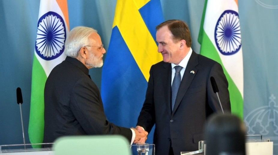 India Sweden Prime Minister meeting