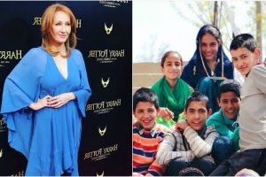 JK Rowling creates unforgettable 'magic moment' for J&K village girl