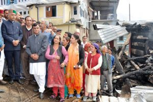 Shimla village fire: CM reaches out to affected families with financial help, timber