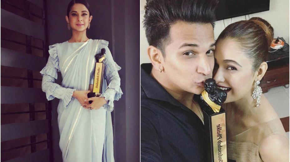 Jennifer Winget, Prince Narula and Yuvika Chaudhary,
