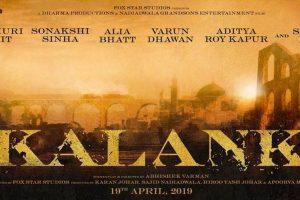 Karan Johar's  star-studded production 'Kalank' cast revealed