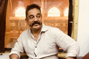 Kamal Haasan leaves for Trichy meet in a train from Chennai