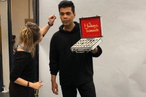 In pictures | Karan Johar becomes first Indian filmmaker to feature at Madame Tussauds