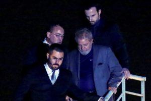 Brazil's ex-President Lula turns himself in to police