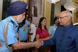 President Kovind remembers Marshal of Indian Air Force Arjan Singh