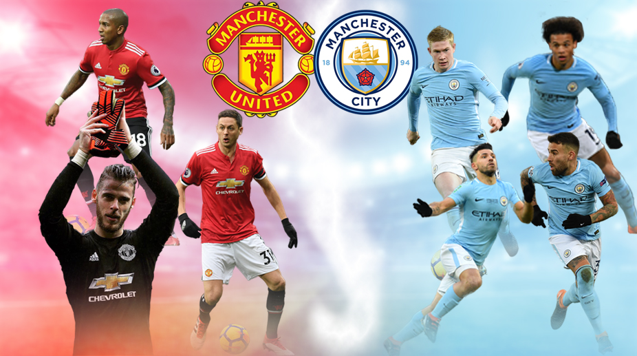 Premier League Combined Manchester United Manchester City Xi On 2017 18 Season Form