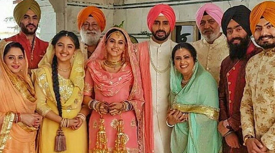 Abhishek Bachchan, Taapsee Pannu, Vicky Kaushal, Manmarziyan