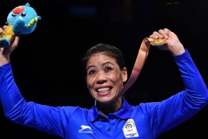 Mary Kom punches her way to Gold on CWG debut
