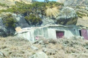 Developing meditation caves in Kedarnath