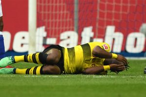 Borussia Dortmund striker Michy Batshuayi updates on injury