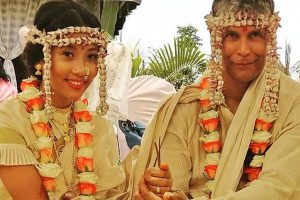 In Pictures: Milind Soman and Ankita Konwar gets hitched