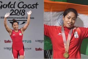 Manipur CM announces cash rewards for lifters Mirabai, Sanjita