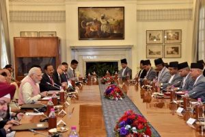 PM Modi holds talks with Nepalese PM Oli to deepen bilateral ties