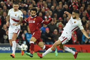 Champions League: Salah leads Liverpool win over Roma
