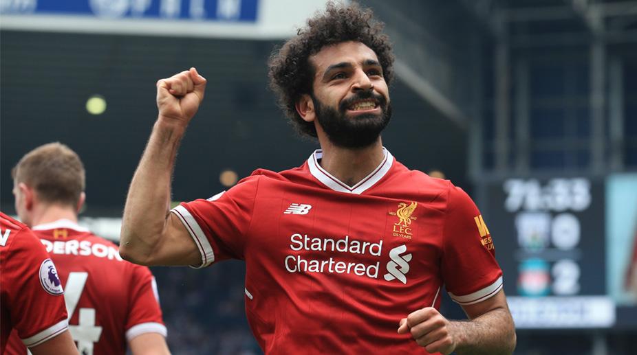 Mohamed Salah, Liverpool F.C., Premier League, West Bromwich Albion vs Liverpool