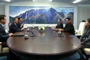 North and South Korea begin historic summit