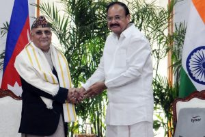 India, Nepal age-old friends with similar cultures: Naidu
