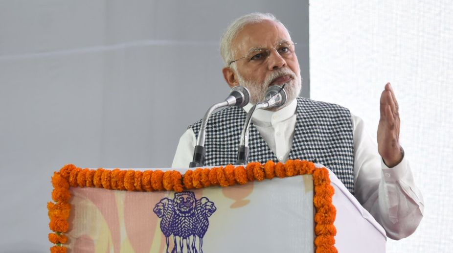 Govt working for development backward districts: PM Modi