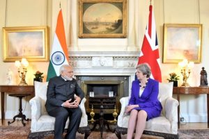 PM Modi discusses immigration, counter-terrorism with Theresa May