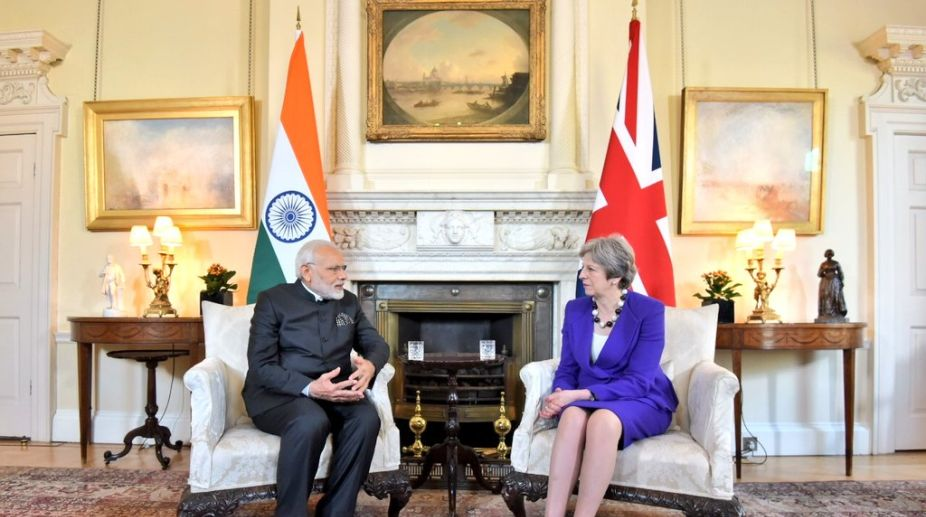PM Modi, Theresa May, England PM, counter-terrorism, Narendra Modi