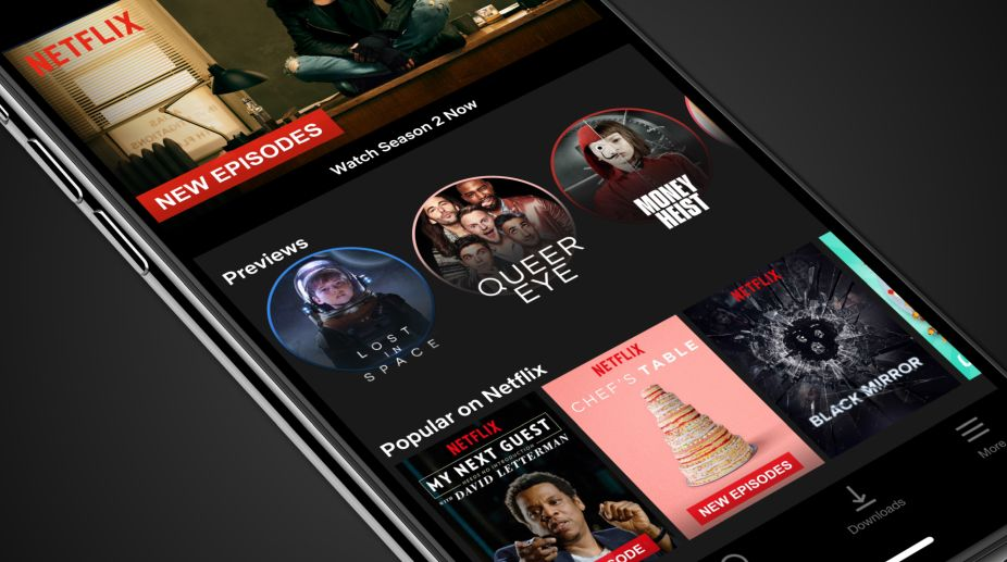 Netflix for iOS offers brief, fast-loading, vertical format show previews