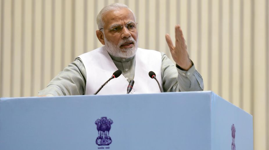 Don't speak out of turn: Modi to BJP MPs, MLAs