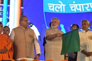 Opposition is dividing country, while BJP is uniting: PM Modi in Bihar