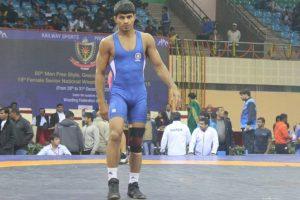 CWG 2018: Wrestler Rahul Aware wins gold