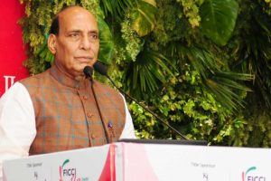 Women are the catalysts of change in our society: Rajnath Singh