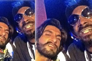Throwback Thursday: Ranveer Singh poses with Snoop Dogg