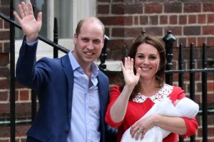 Duke and Duchess of Cambridge name their baby son Prince Louis