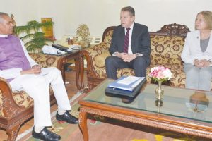 Russian Ambassador calls on Guv