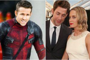 'A Quiet Place' starsJohn Krasinski,Emily Bluntare 'new parents' of Ryan Reynolds