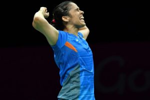 CWG 2018: Twitter in awe as Saina Nehwal wins gold