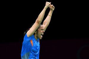 Saina Nehwal beats PV Sindhu to win badminton singles gold