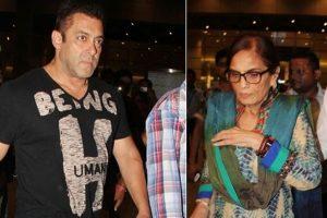 Watch: When Salman Khan's mother Salma Khan broke down recalling his jail stint