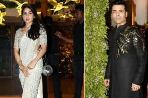 Watch: Sara Ali Khan, Karan Johar, Shweta Nanda shake a leg at friend's wedding reception