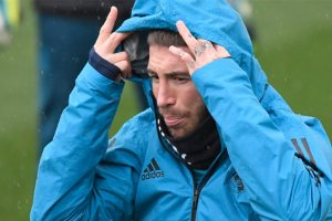 Watch: Real Madrid skipper Sergio Ramos puts in hard yards in gym session