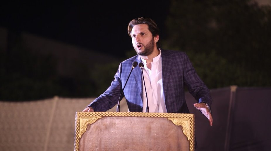 Shahid Afridi rakes up Kashmir issue, cricketer calls for UN's intervention
